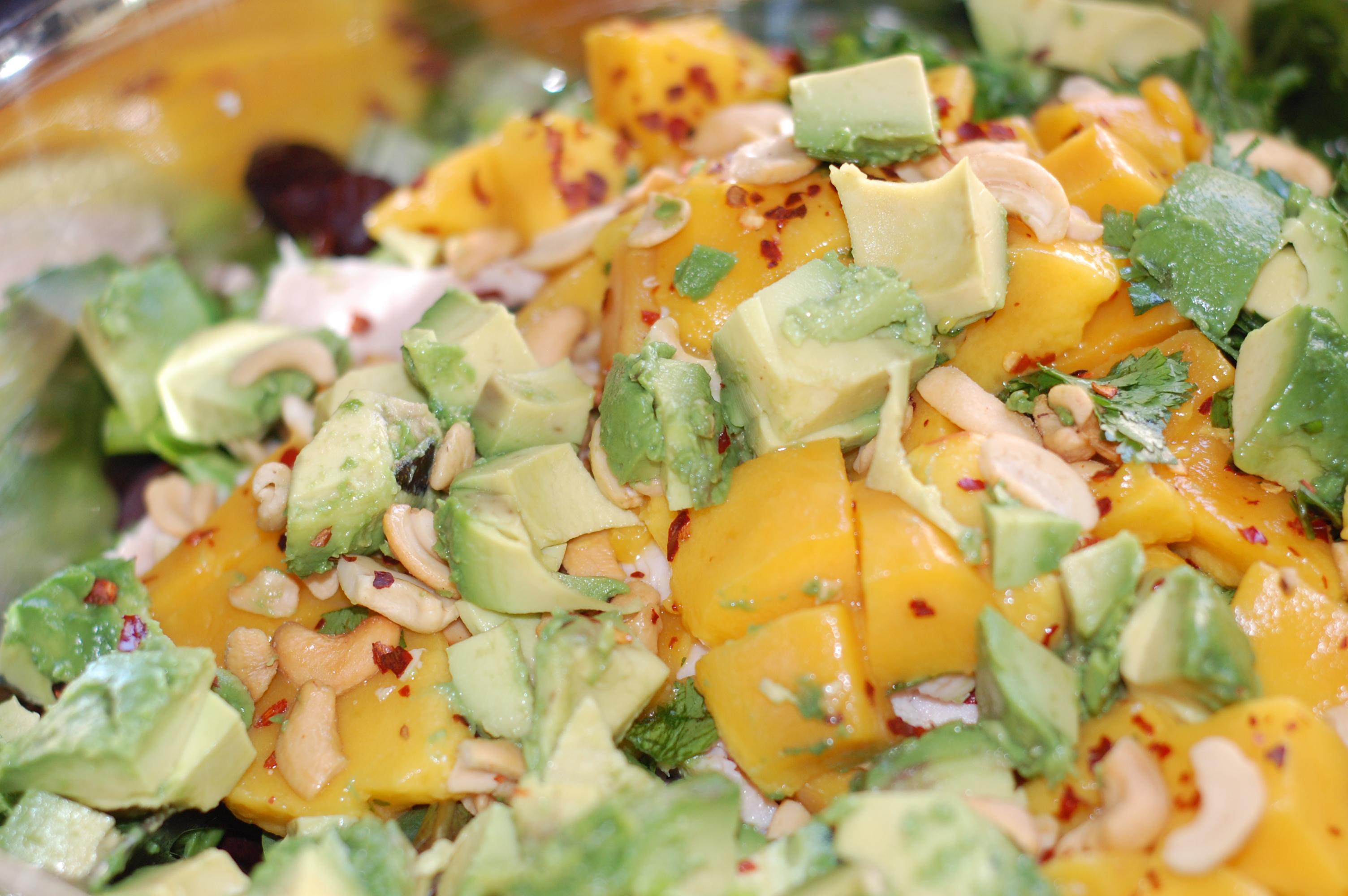 Mango Chicken Salad | Mommy Bistro